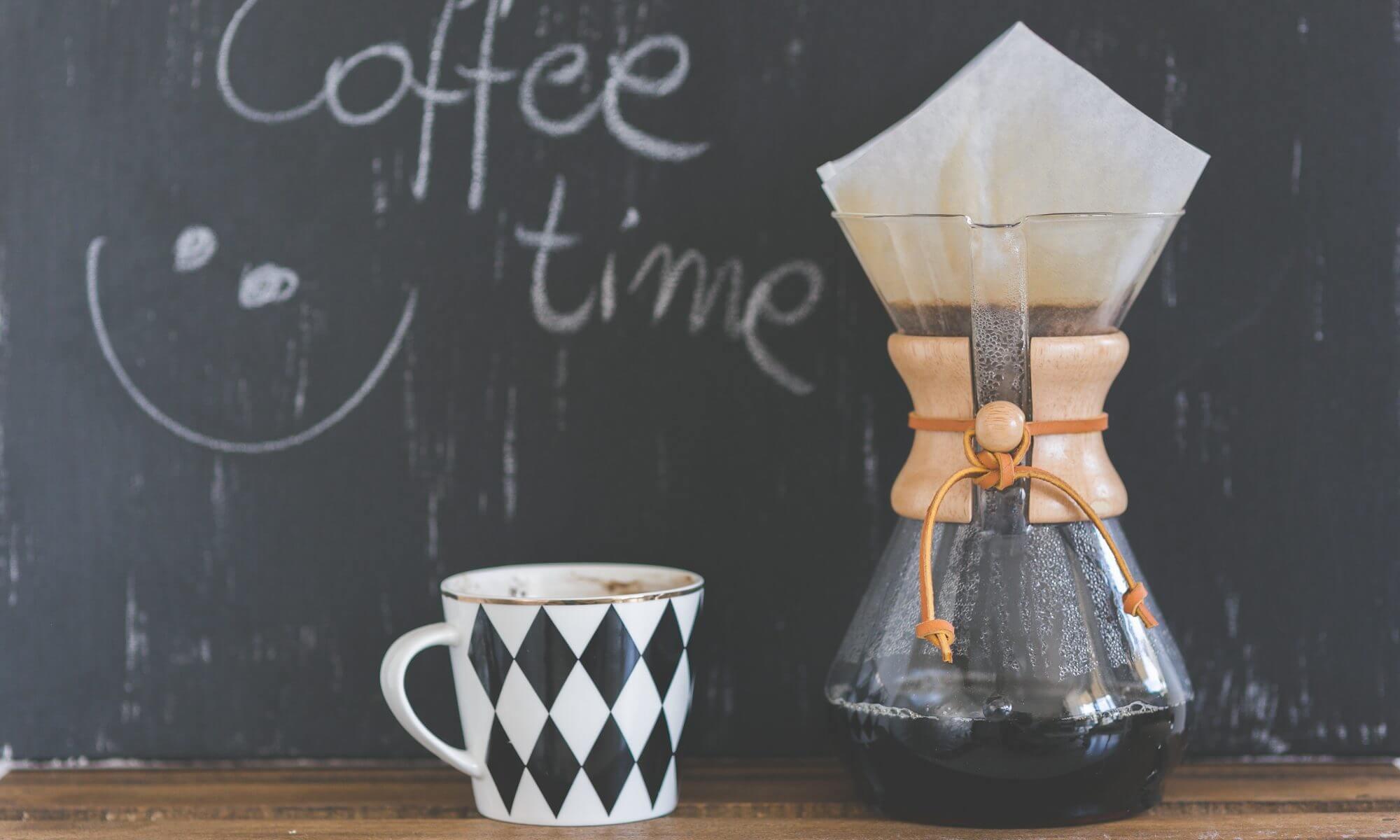 Coffee break offered by Juniper